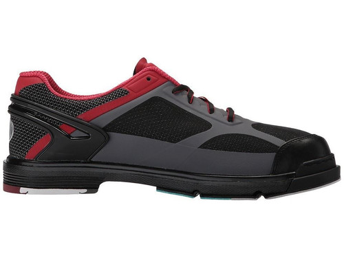 Dexter THE 9 HT Mens Bowling Shoes Black/Red/Grey WIDE