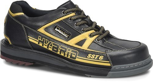 Dexter SST 6 Hybrid Mens Bowling Shoes Black/Gold Right Hand