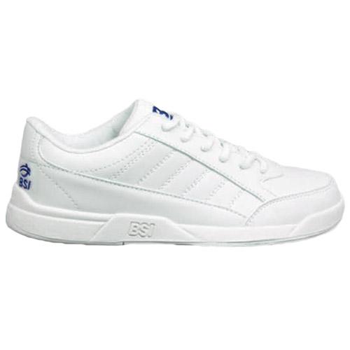 BSI Boys Basic Bowling Shoes White