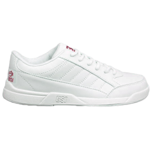 BSI Girls Basic Bowling Shoes White