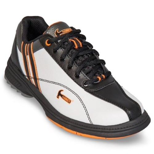 Hammer Vixen Womens Bowling Shoes White/Black/Orange Right Hand