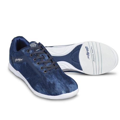 KR Strikeforce Womens Nova Lite Bowling Shoes Denim/Sparkle