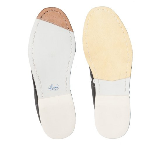 Linds Classic Womens Bowling Shoes White Leather Right Handed