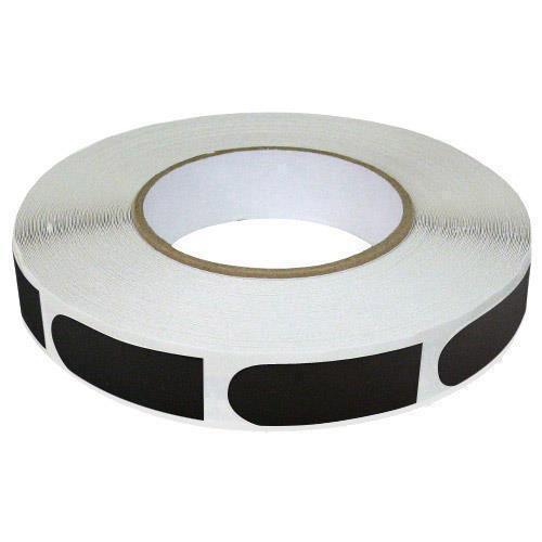 "Brunswick Black Smooth 3/4"" Bowling Tape - 250 Roll"