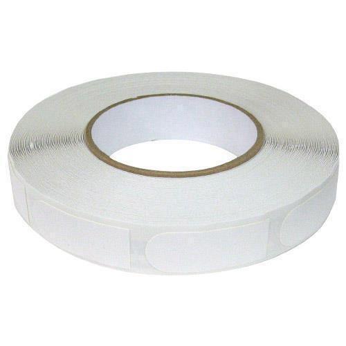 "Brunswick White Textured 3/4"" Bowling Tape - 250 Roll"