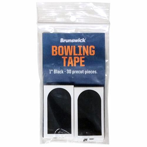 "Brunswick Black Smooth 1"" Bowling Tape - 30 Pack"