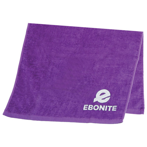 Ebonite Solid Cotton Bowling Towel Purple