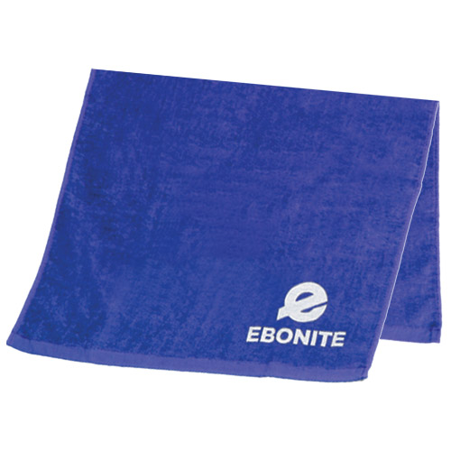 Ebonite Solid Cotton Bowling Towel Royal
