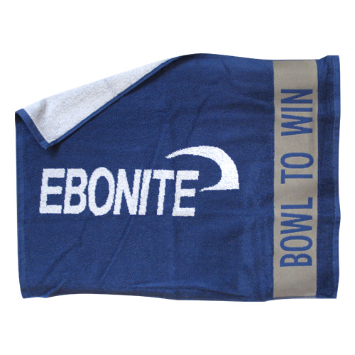 Ebonite Logo Loomed Cotton Towel