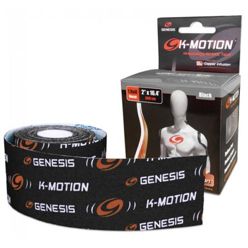 Genesis K-Motion Tape - Roll Black