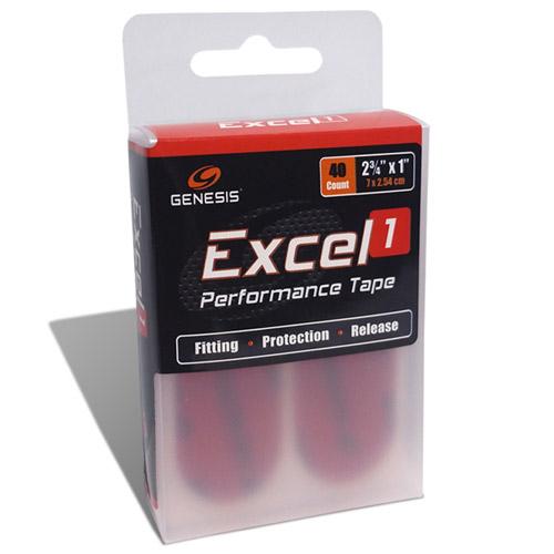 Genesis Excel 1 Performance Tape Red