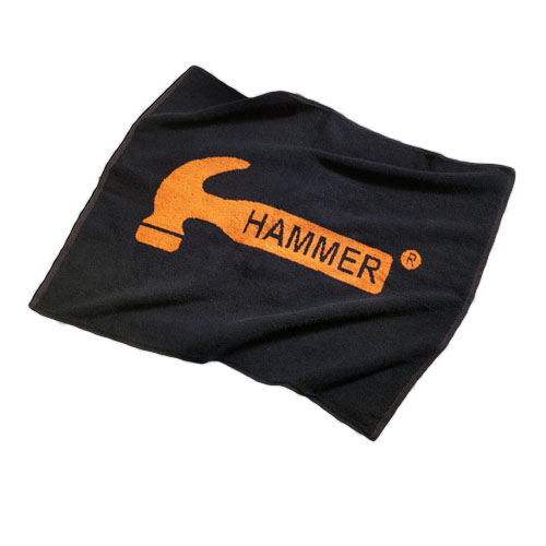 Hammer Logo Loomed Cotton Towel