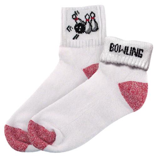"""Master Ladies """"Bowling Pin"""" Socks"""