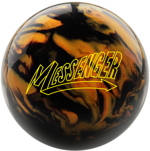 Columbia 300 Messenger Black/Gold Bowling Ball