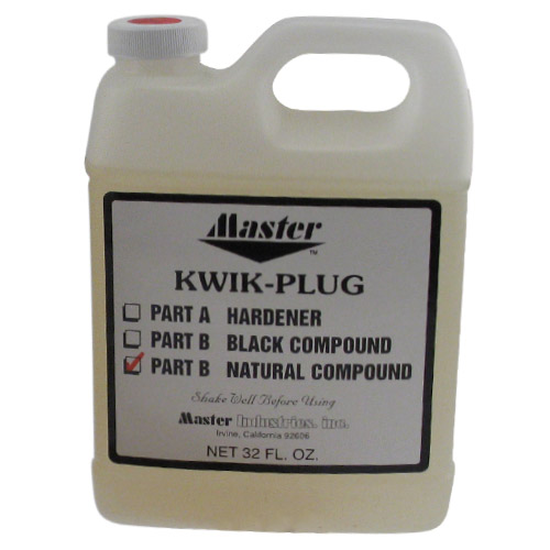 Master Kwik Plug Natural Compound - 32 oz