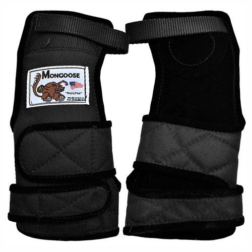 Mongoose Lifter Wrist Support Black