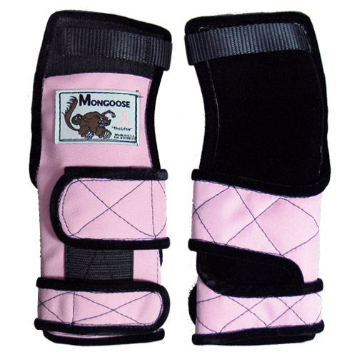 Mongoose Lifter Wrist Support Pink