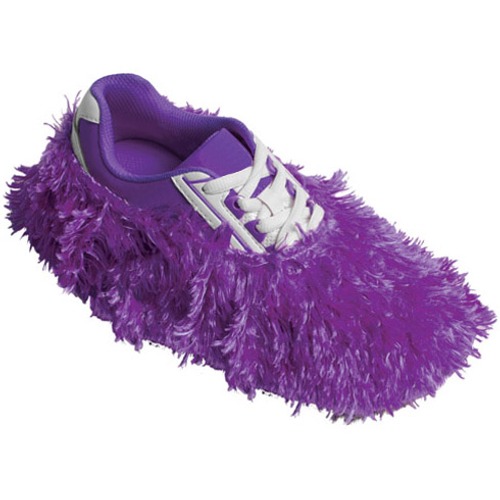 Robby's Fuzzy Shoe Covers Purple