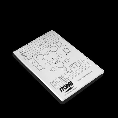 Storm Drill Sheet Spec Pad - 50 Sheets