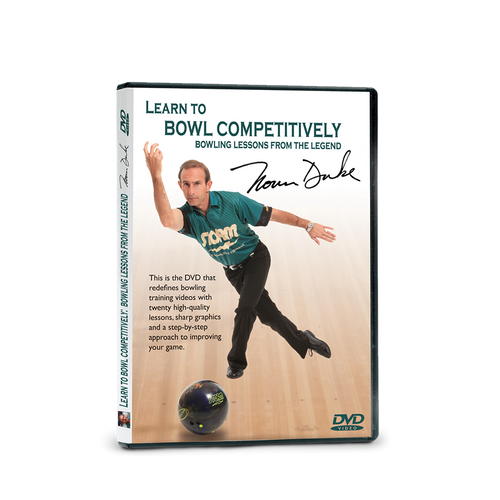 Learn To Bowl Competitive DVD By Norm Duke