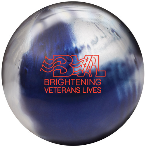 Brunswick BVL Johnny Petraglia Blue/Platinum Bowling Ball
