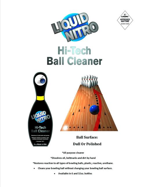 Neo Tac Liquid Nitro Ball Cleaner - 6 oz