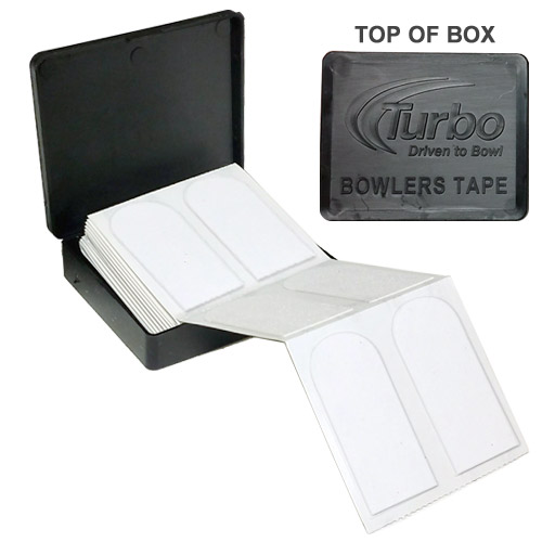 "Turbo Bowlers Tape 1"" White - 40 Pieces"