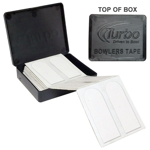 "Turbo Bowlers Tape 3/4"" White - 40 Pieces"