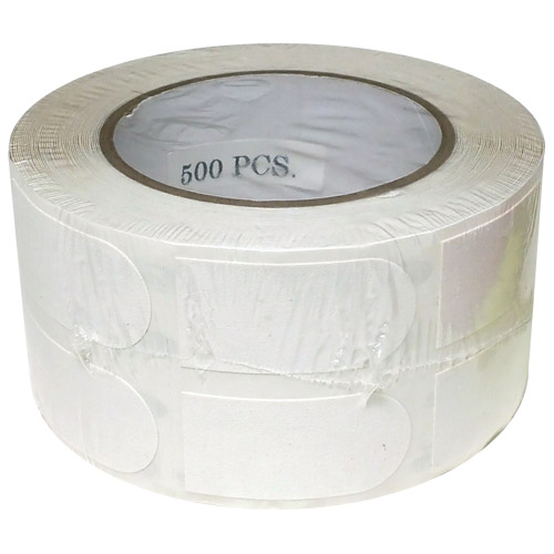 "Turbo Bowlers Tape 1"" White - 500 Pieces"