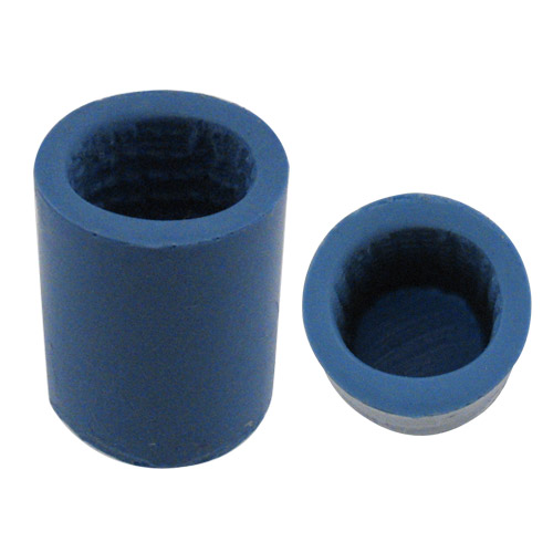 Vise Silicone Oval with Nubs Finger Inserts
