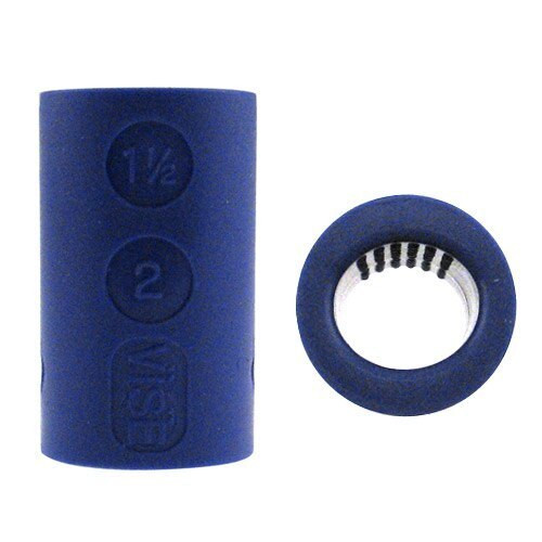Vise Oval/Nubs Grape Finger Insert - Package of 10