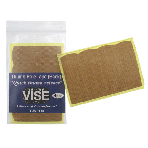 Vise Thumb Tape TA-1C - 12 Packages of 4 Pieces