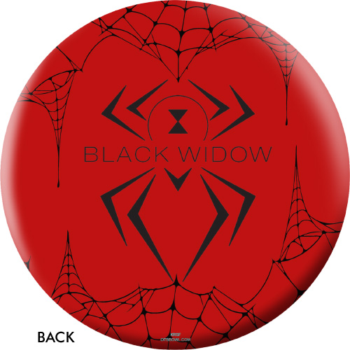 OTBB Hammer Black Widow Red Bowling Ball