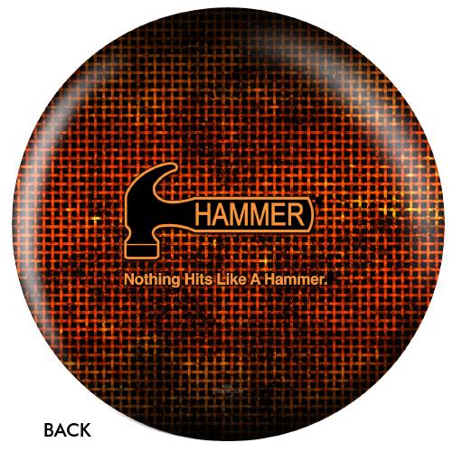 OTBB Hammer Logo Bowling Ball