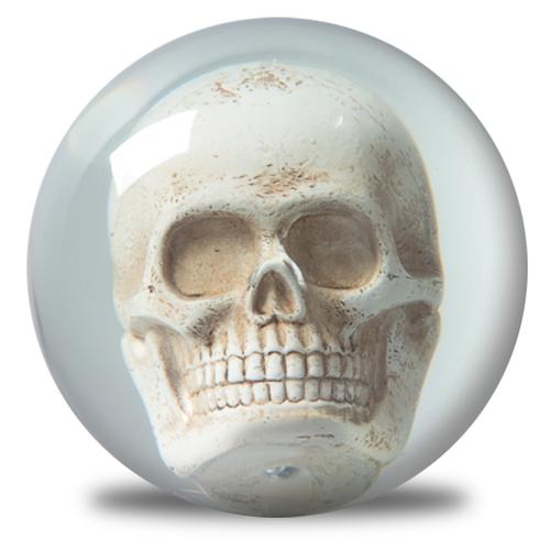 OTBB Clear Skull Bowling Ball