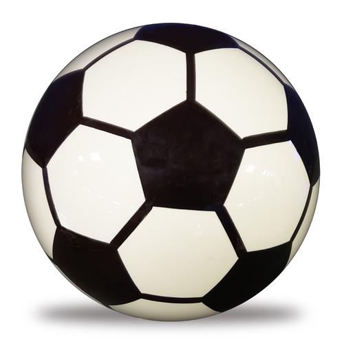 OTBB Clear Soccer Bowling Ball