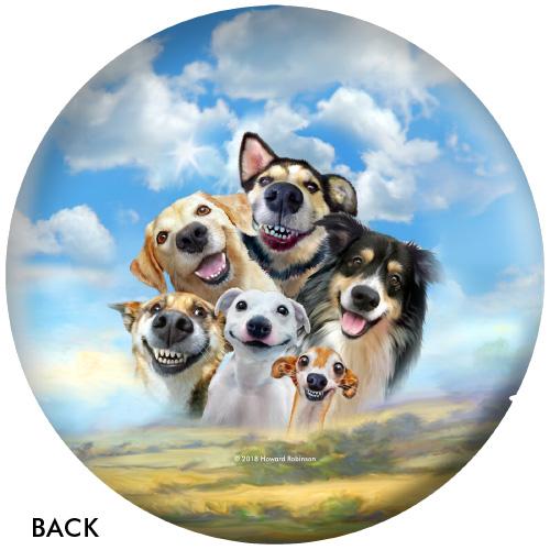 OTBB Dog Selfies Bowling Ball
