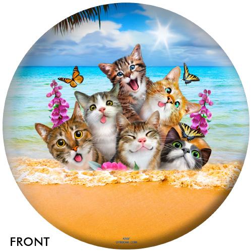 OTBB Cat Selfies Bowling Ball