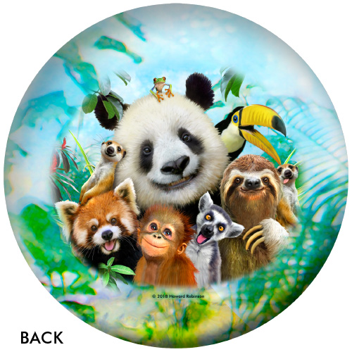 OTBB Zoo Friends Selfies Bowling Ball
