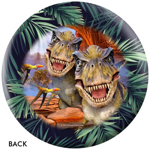 OTBB Dinosaur Selfies Bowling Ball