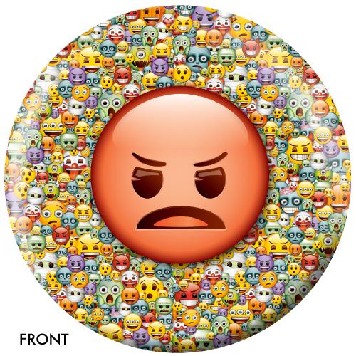 OTBB Emoji Steamed-Devil Bowling Ball