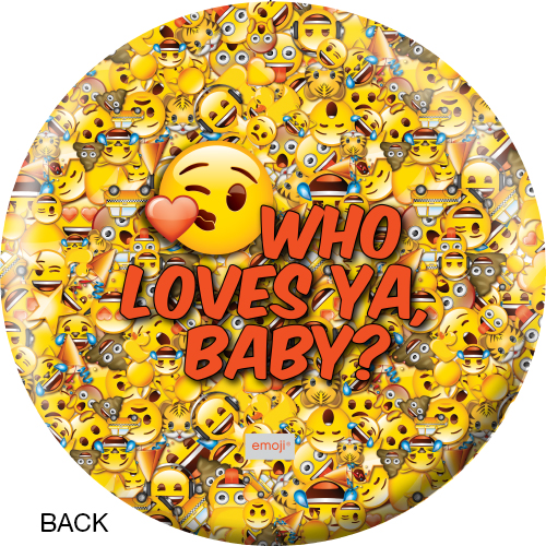 OTBB Emoji Who Loves Ya Bowling Ball