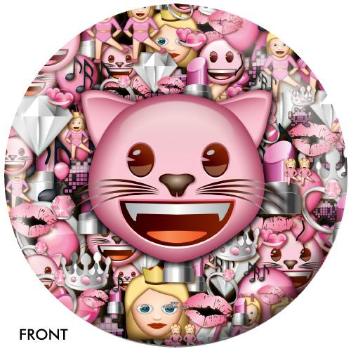 OTBB Emoji Cats Rule Bowling Ball