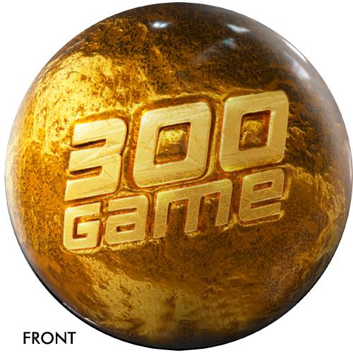 OTBB 300 Game Award Gold Bowling Ball
