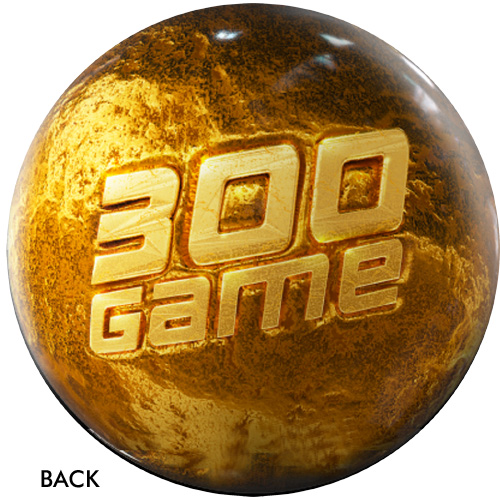 OTBB 300 Game Award Gold Bowling Ball