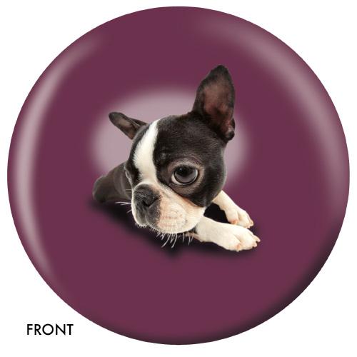 OTBB Boston Terrier Bowling Ball