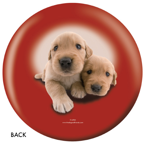 OTBB Golden Retriever Bowling Ball