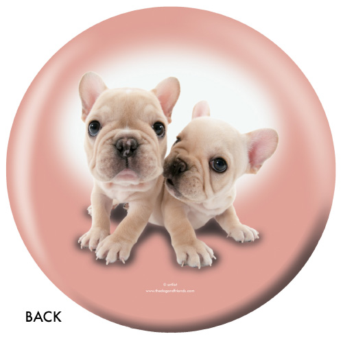 OTBB French Bulldog Bowling Ball