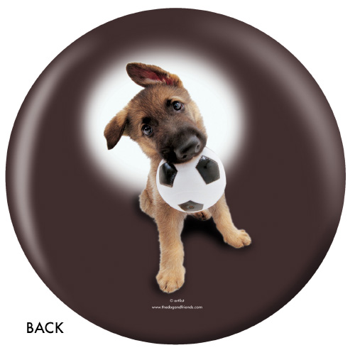 OTBB German Shepherd Bowling Ball