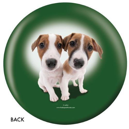 OTBB Jack Russell Terrier Bowling Ball